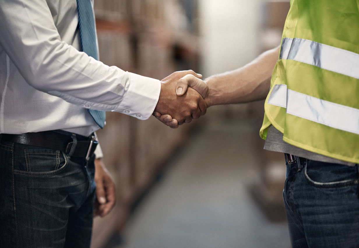 Manufacturing company partnering with a contract manufacturer to overcome manufacturing hiring challenges