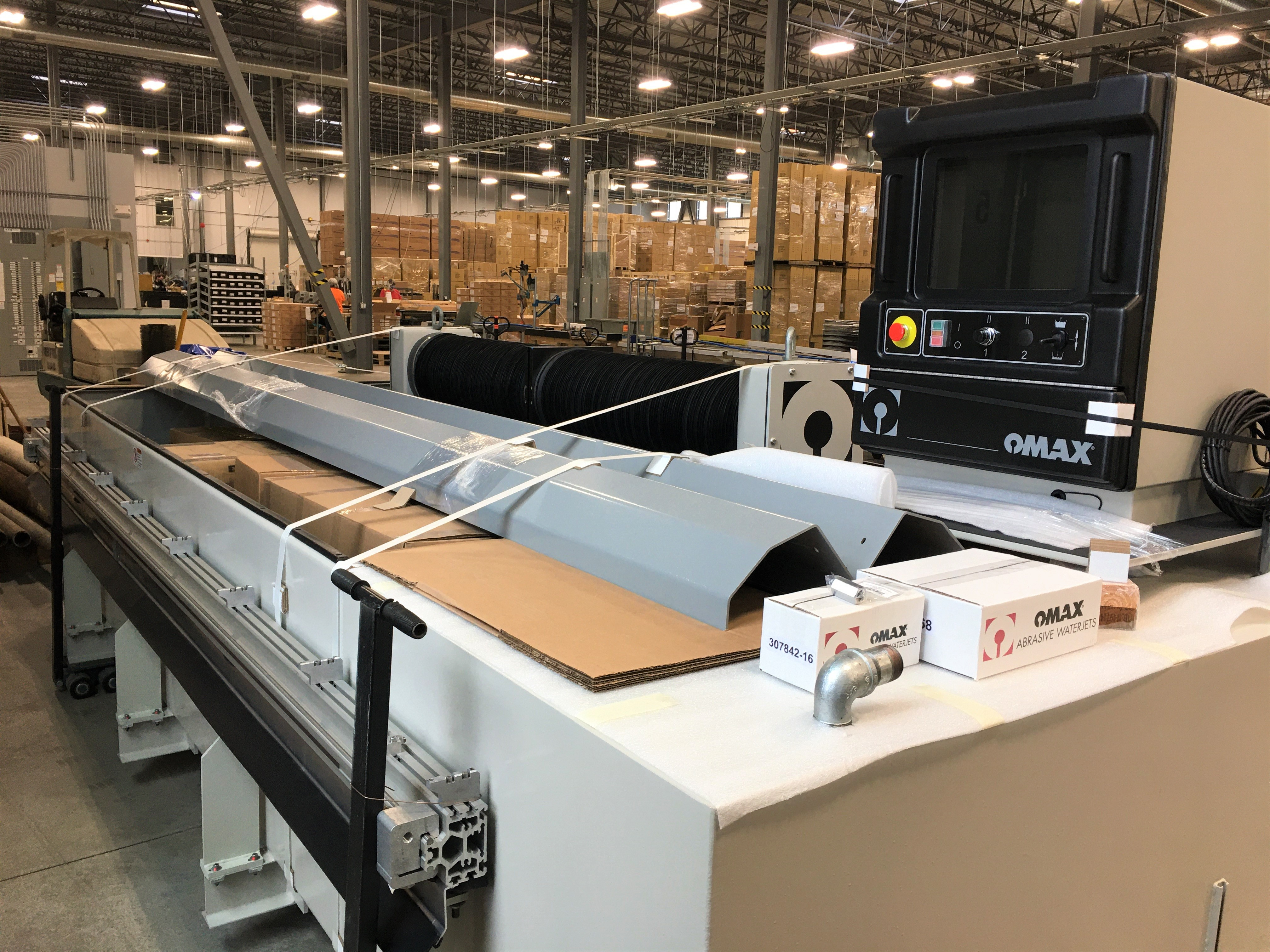 Manufacturing Solutions Inc OMAX 60120 Waterjet Cutter