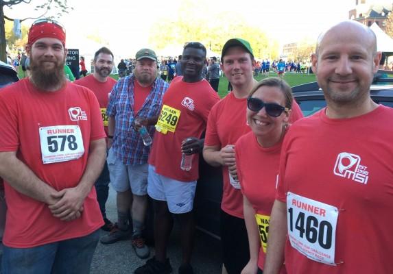 MSI Runs & Walks in 2019 Vermont 5K Corporate Cup Challenge