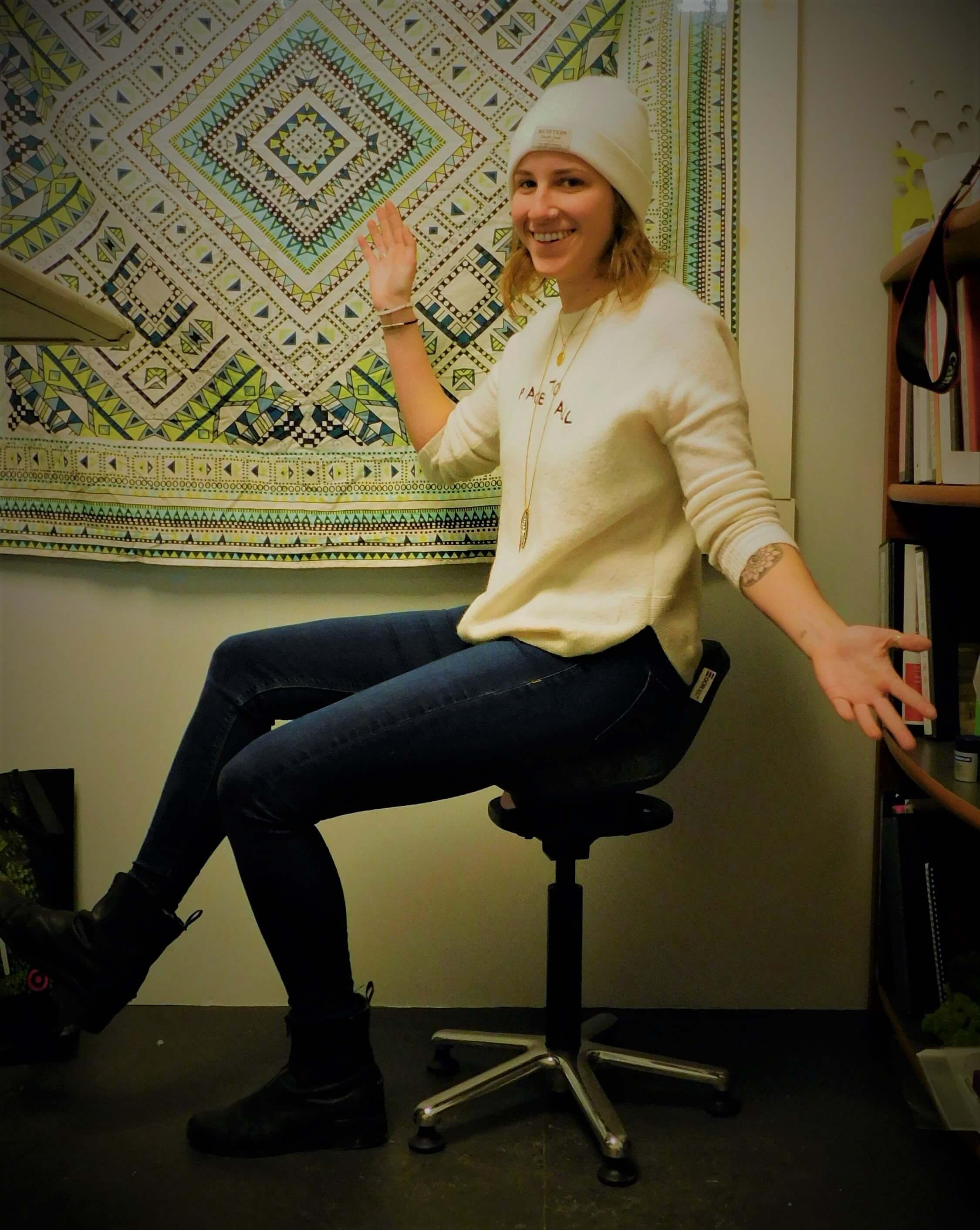 Nathalie Posing